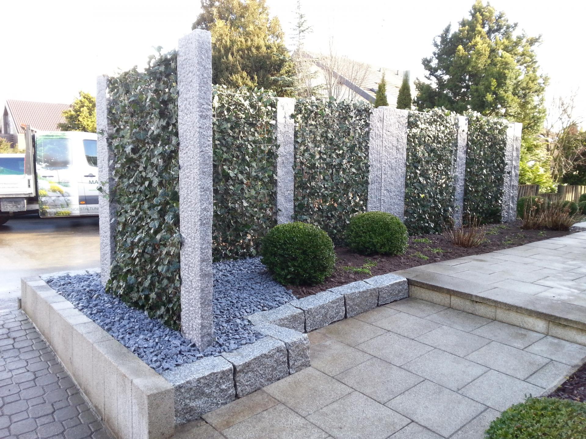 Sichtschutz, Garten | Marohn & Binder Gartengestaltung in Renningen ...